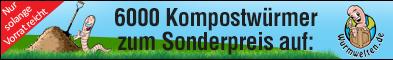 Kompostwürmer Misthaufen