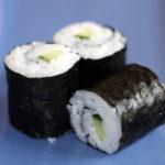 Gurke Kappa Maki, Sushi Reis